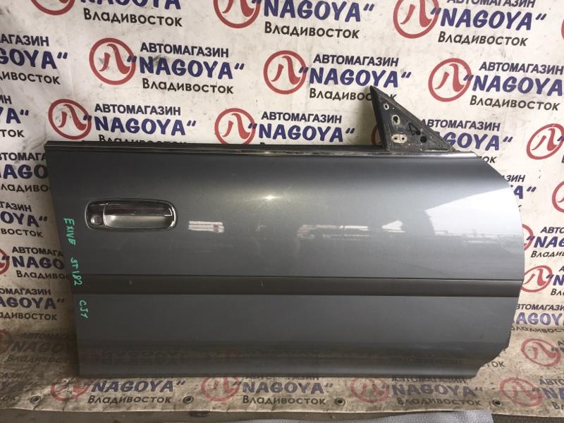 Дверь Toyota Corona Exiv ST182 передняя правая