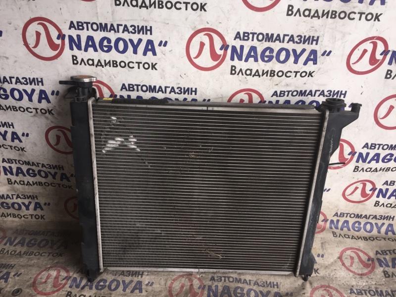 Радиатор основной Nissan Lafesta B30 MR20DE A/T