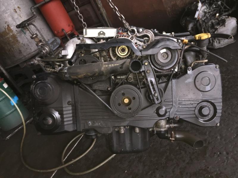 Двигатель Subaru Legacy BE9 EJ254DXDBE B354385