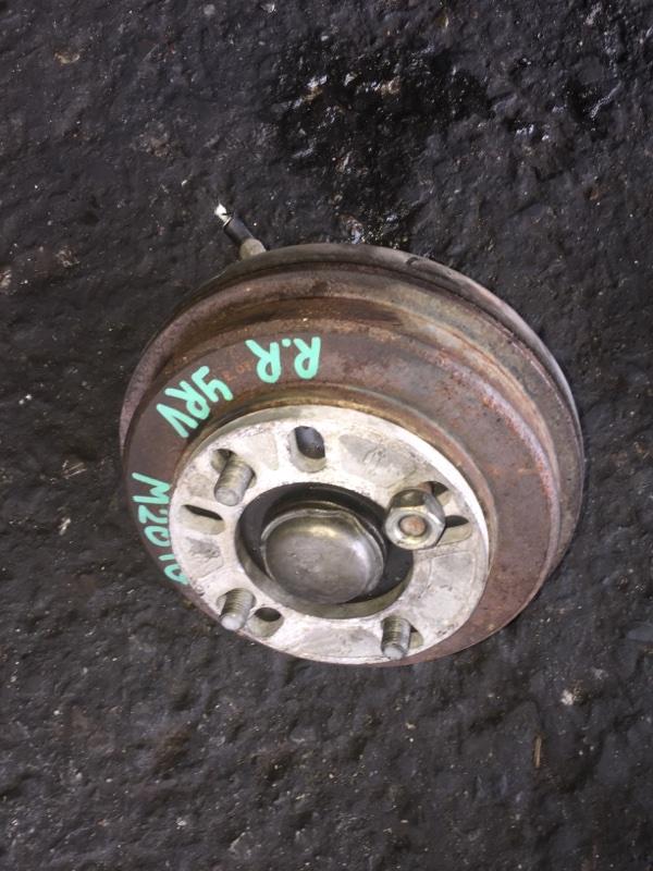 Ступица Daihatsu Yrv M201G K3-VET задняя правая ABS