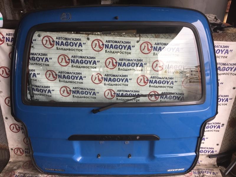 Дверь 5-я Toyota Dyna LY290 задняя