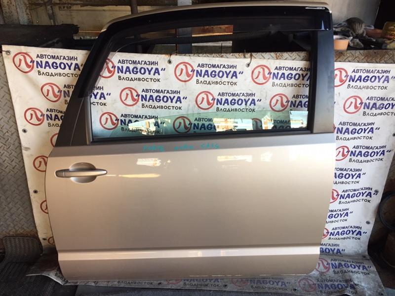 Дверь Toyota Porte NNP10 левая COLOR 4T8
