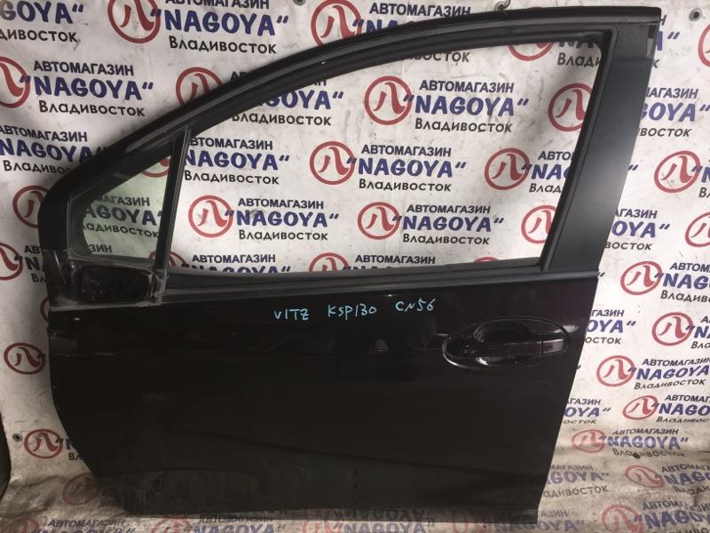 Дверь Toyota Vitz KSP130 передняя левая COLOR 3R9