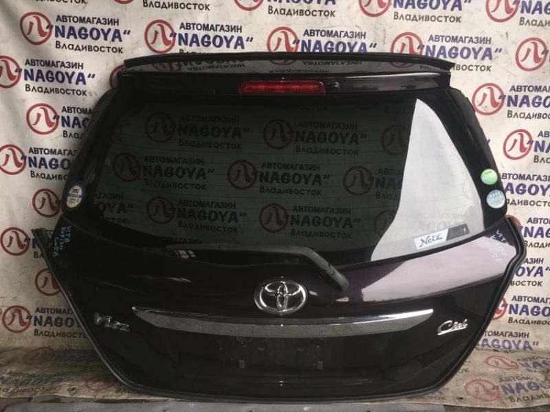 Дверь 5-я Toyota Vitz KSP130 задняя COLOR 3R9