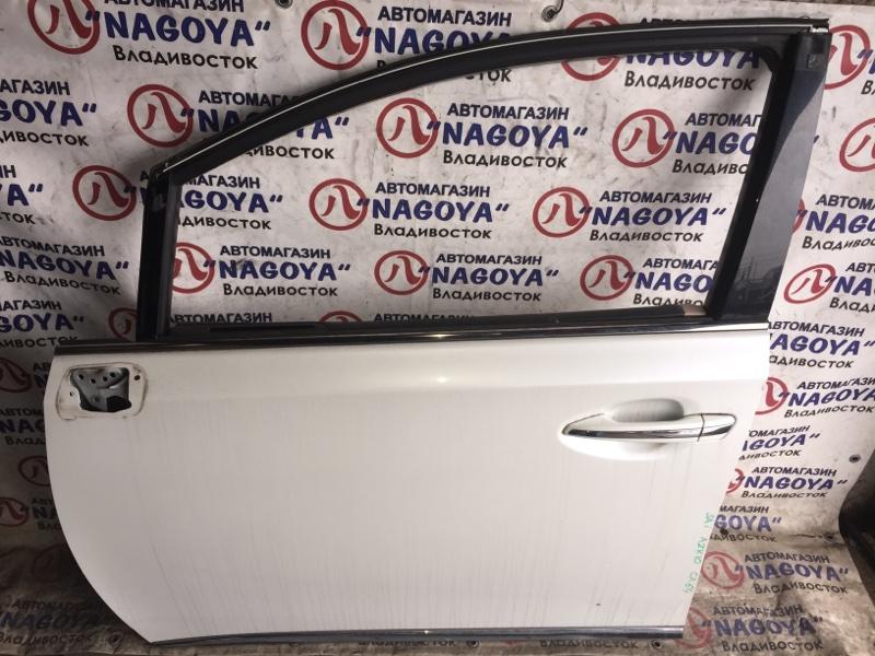 Дверь Toyota Sai AZK10 передняя левая COLOR 070