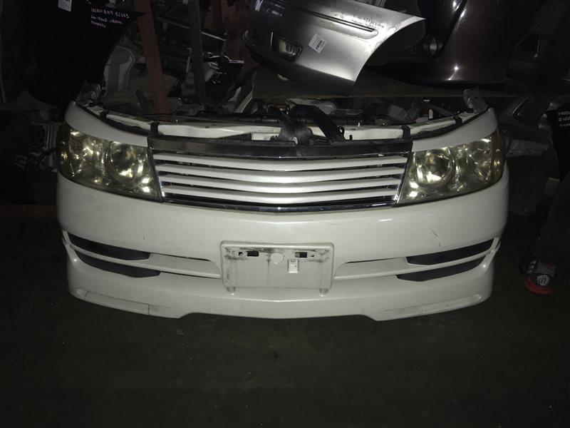 Nose cut Nissan Liberty RM12 QR20DE передний 1686