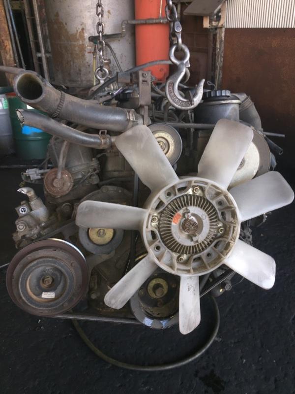 Двигатель Toyota Dyna YY121 3Y 1304237