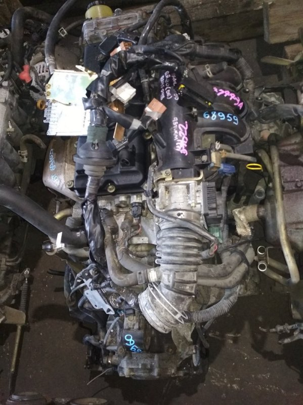 Двигатель Nissan X-Trail T30 QR20DE 447443A
