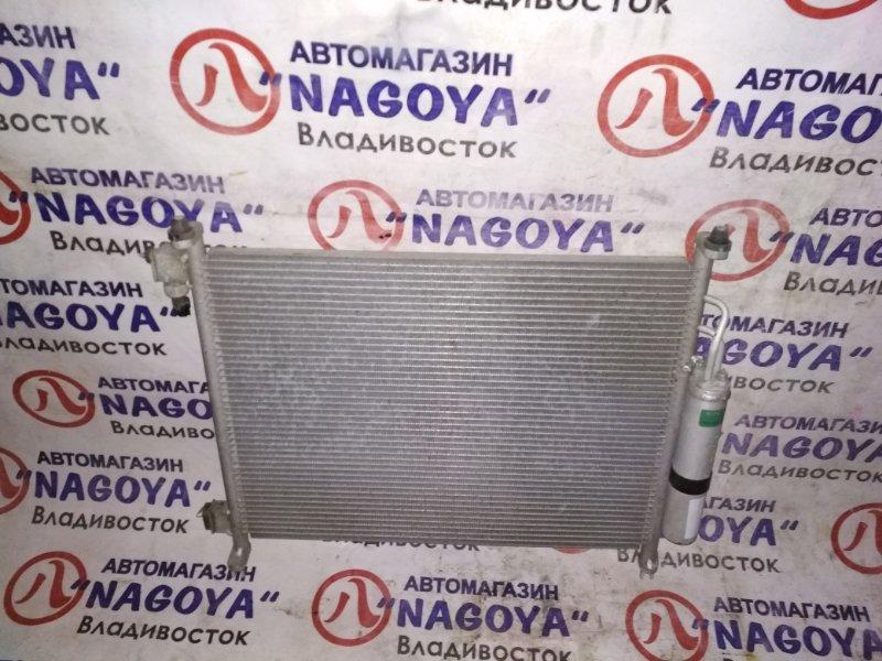 Радиатор кондиционера Nissan March K13