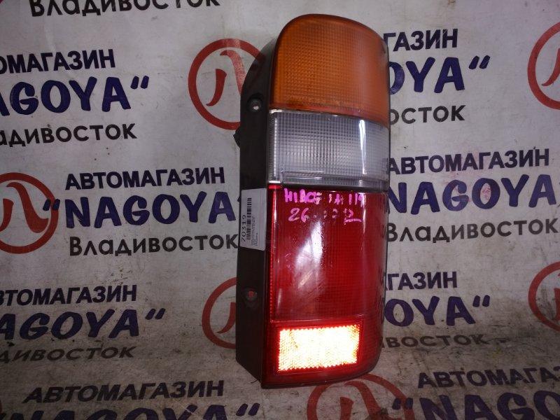 Стоп-сигнал Toyota Hiace LH119 задний правый 2629