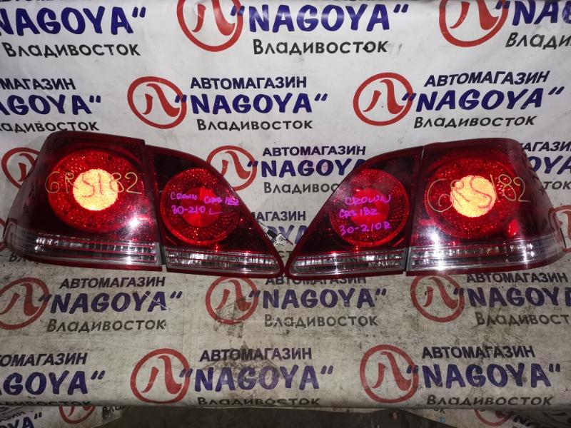 Стоп-сигнал Toyota Crown Athlete GRS182 задний 30309/30310