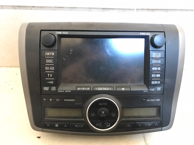 Монитор Toyota Allion ZRT260 86100-20521