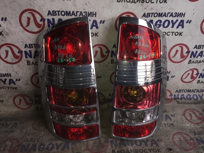 Стоп-сигнал Toyota Noah AZR60 задний 28157