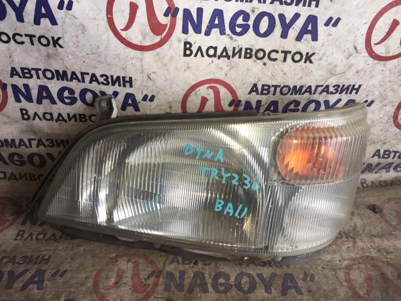 Фара Toyota Dyna TRY230 передняя левая 100-77868