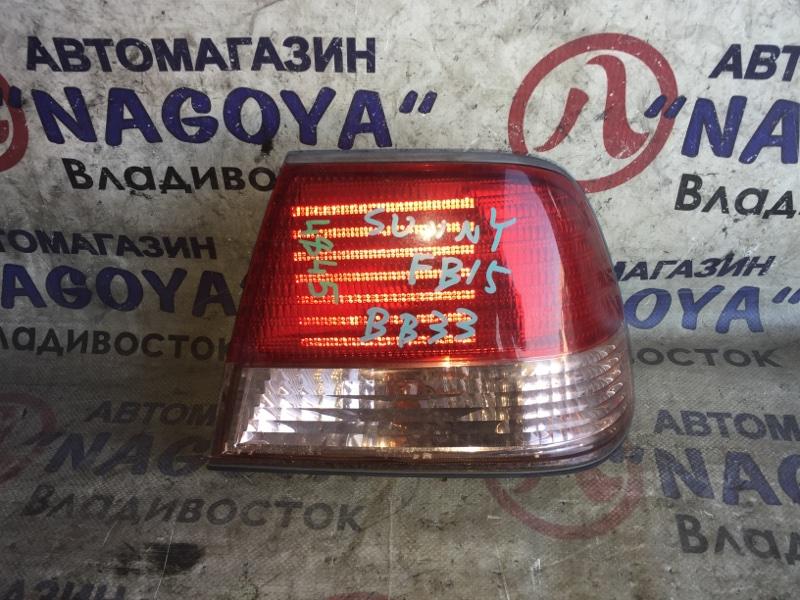 Стоп-сигнал Nissan Sunny FB15 задний правый 4845A