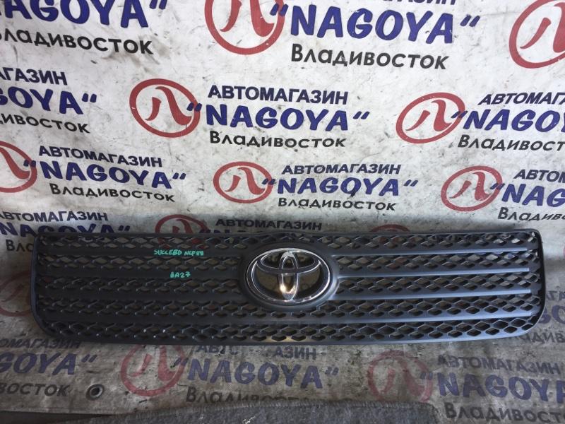 Решетка Toyota Succeed NCP58 передняя