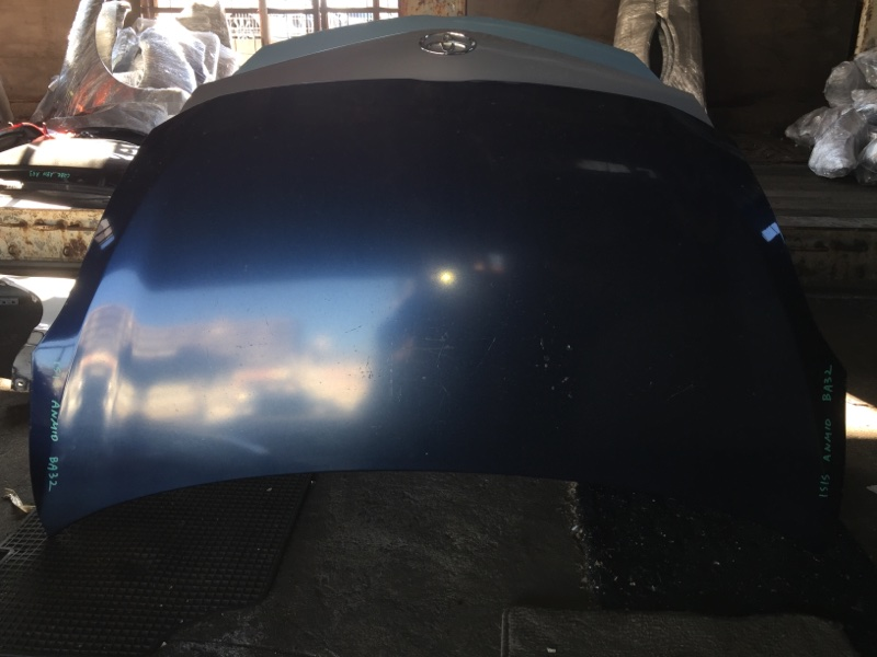 Капот Toyota Isis ANM10 передний COLOR 8S6
