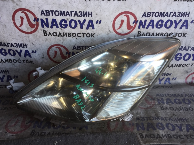 Фара Toyota Isis ANM10 передняя левая 4461