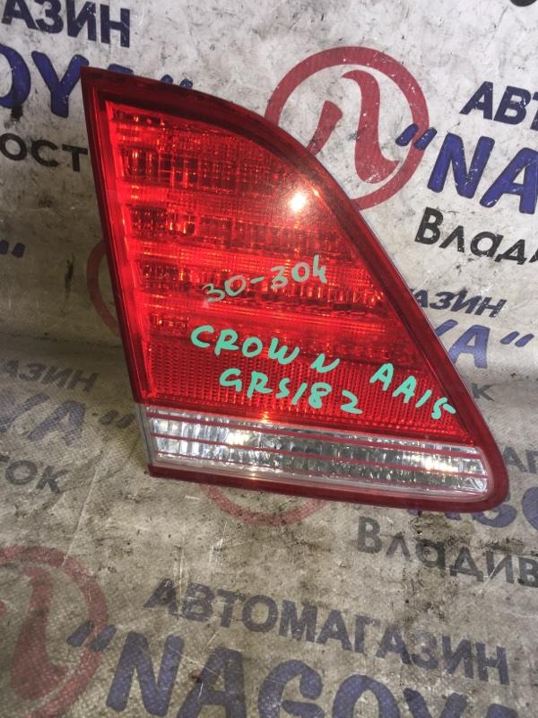 Стоп-вставка Toyota Crown GRS182 задняя левая 30304