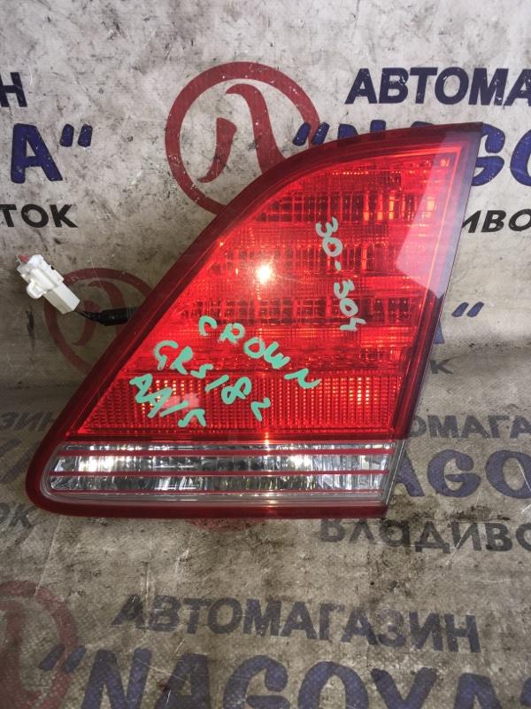 Стоп-вставка Toyota Crown GRS182 задняя правая 30304