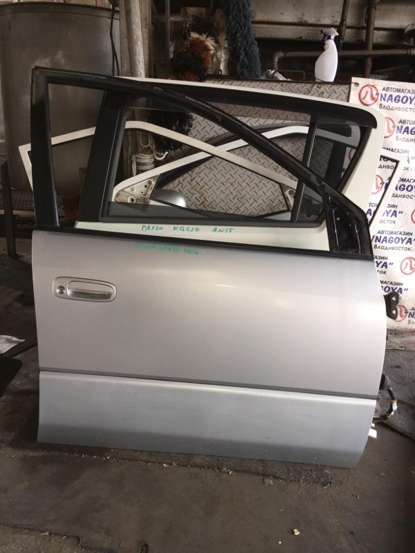 Дверь Toyota Ipsum SXM10 передняя правая COLOR 199