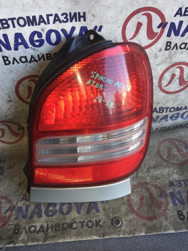 Стоп-сигнал Toyota Corolla Spacio AE115 задний правый 1358