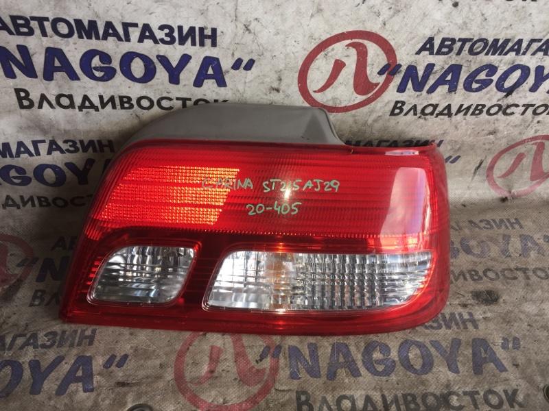 Стоп-сигнал Toyota Carina ST215 задний правый 20405
