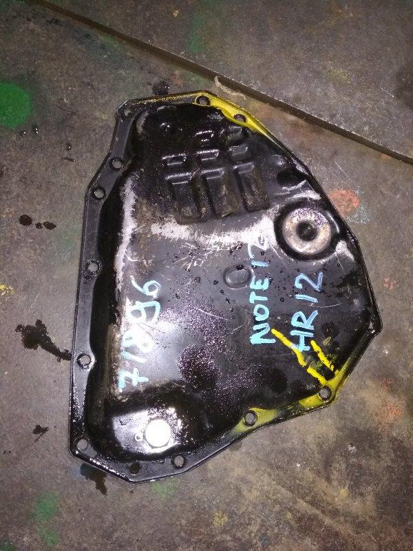 Поддон кпп Nissan Note E12 HR12DE RE0F11A GM38
