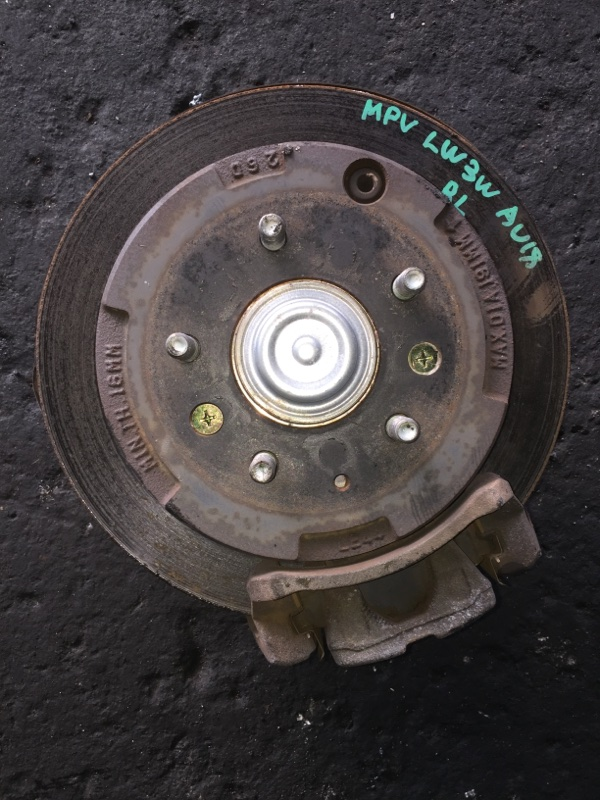 Ступица Mazda Mpv LW3W задняя левая ABS