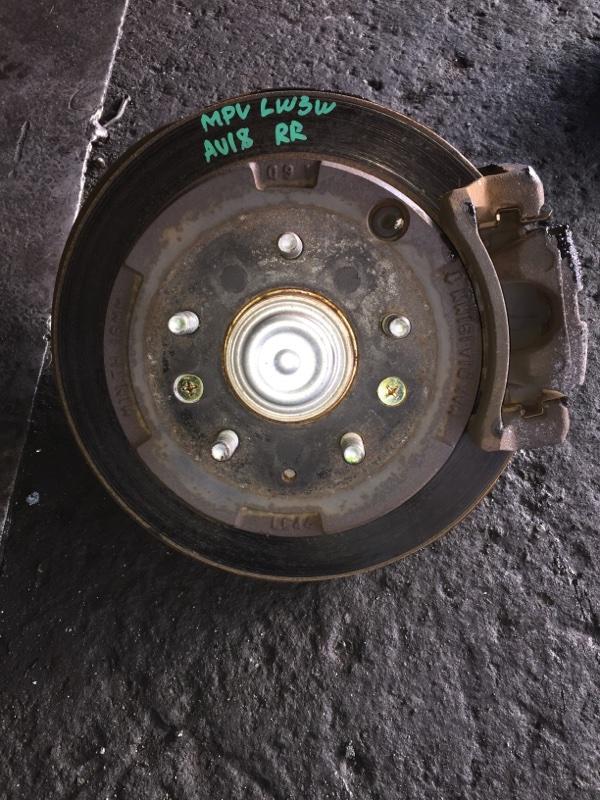 Ступица Mazda Mpv LW3W задняя правая ABS