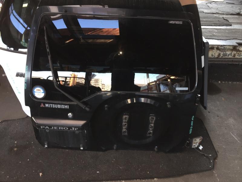Дверь 5-я Mitsubishi Pajero Junior H57A задняя COLOR X08A75