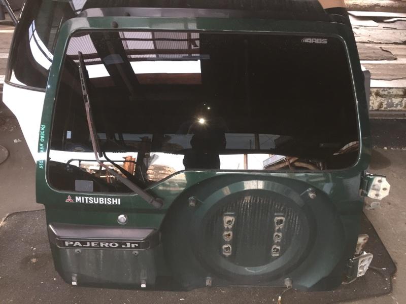 Дверь 5-я Mitsubishi Pajero Junior H57A задняя COLOR G13S74