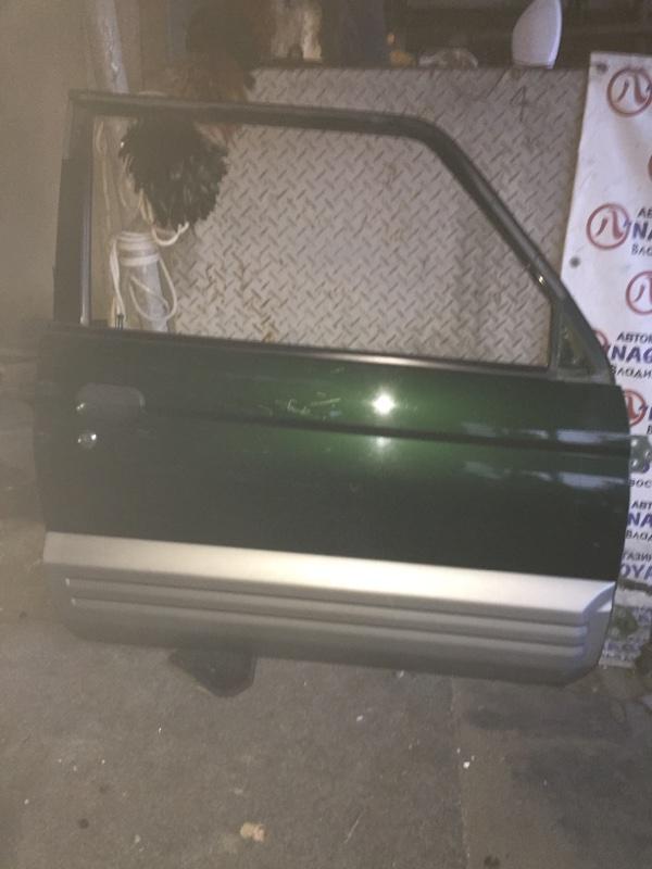 Дверь Mitsubishi Pajero Junior H57A передняя правая COLOR G13S74