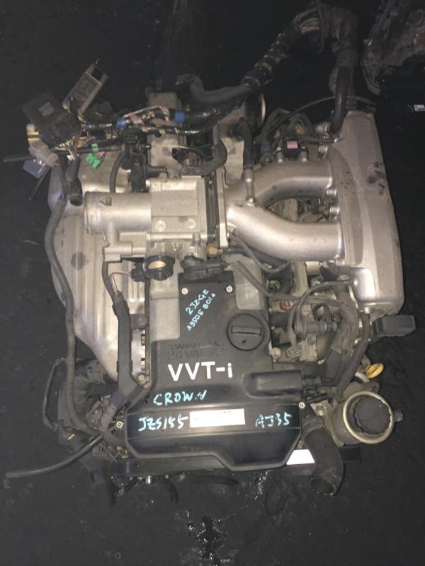 Двигатель Toyota Crown JZS155 2JZ-GE 0481187