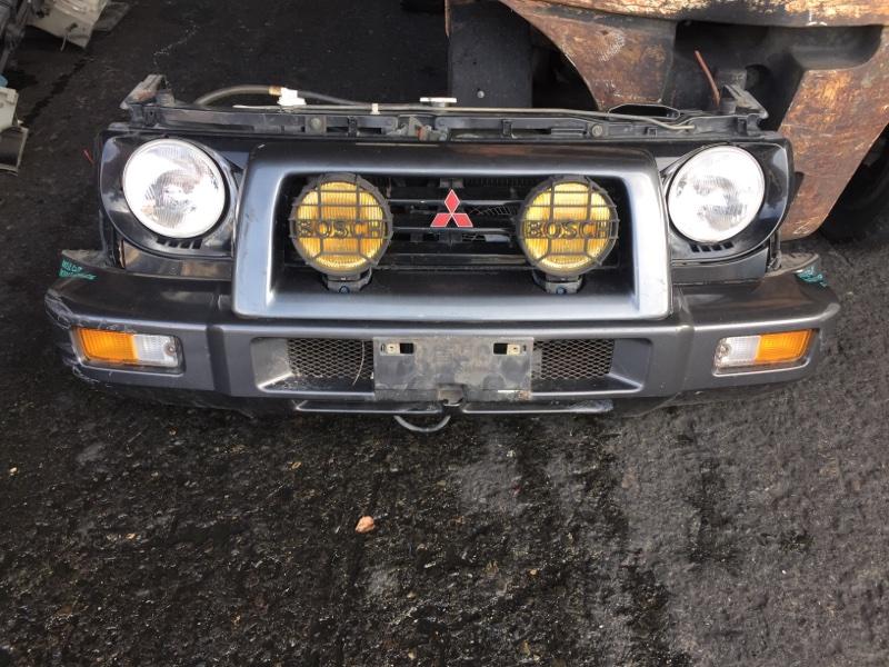Nose cut Mitsubishi Pajero Junior H57A 4A31 передний