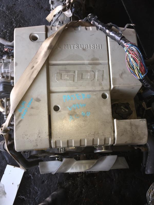 Двигатель Mitsubishi Pajero V75W 6G74 KM6130