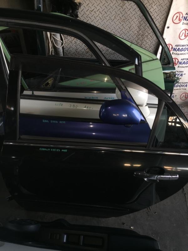 Дверь Toyota Corolla ZZE122 задняя левая SEDAN