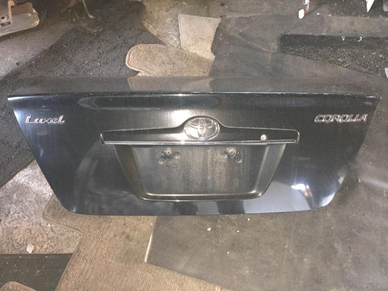 Крышка багажника Toyota Corolla ZZE122 задняя 1 MODEL
