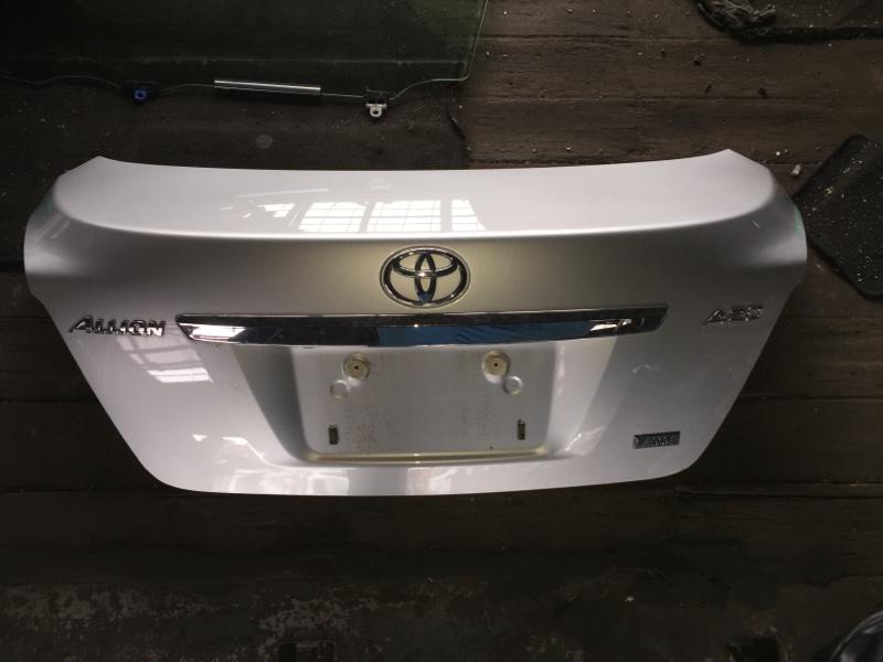 Крышка багажника Toyota Allion ZRT261 задняя COLOR 1F7