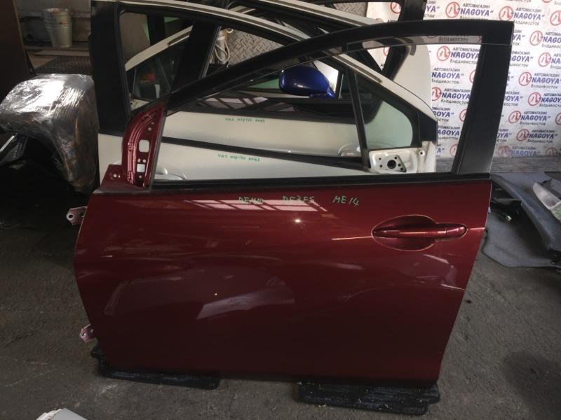 Дверь Mazda Demio DE3FS передняя левая COLOR 40F