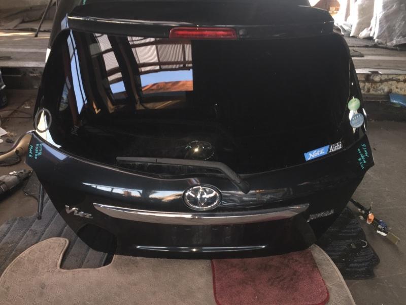 Дверь 5-я Toyota Vitz KSP130 задняя COLOR 209