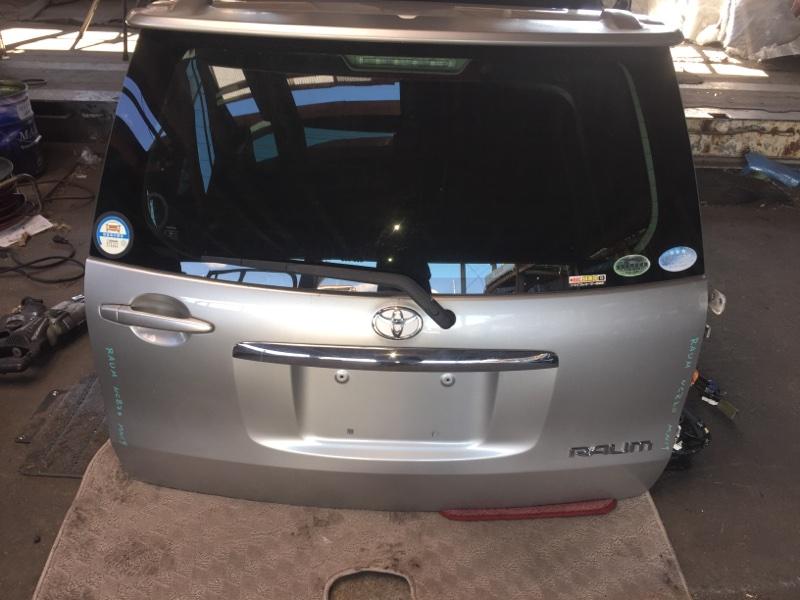 Дверь 5-я Toyota Raum NCZ20 задняя COLOR 1D9