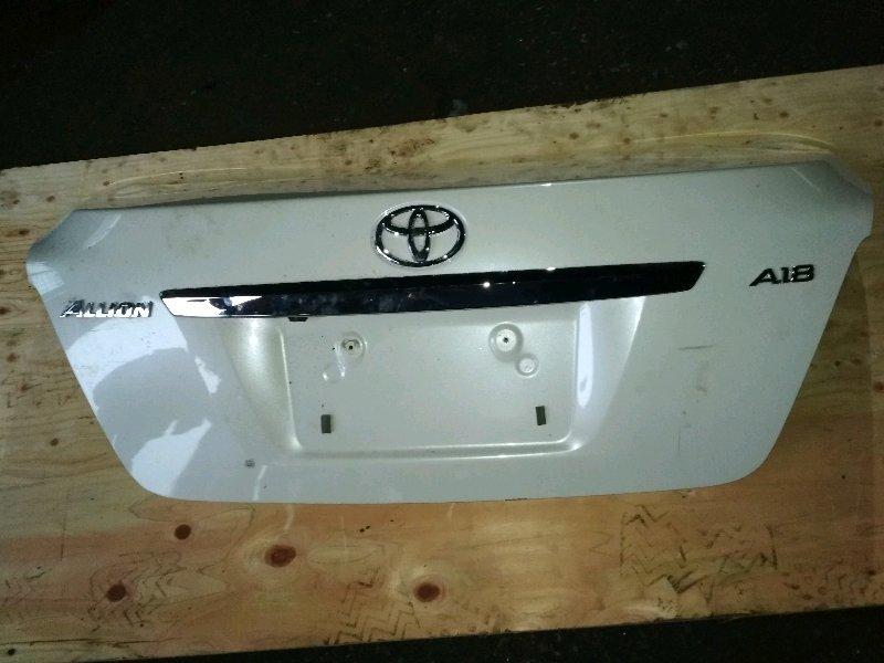 Крышка багажника Toyota Allion ZRT260 задняя COLOR 070