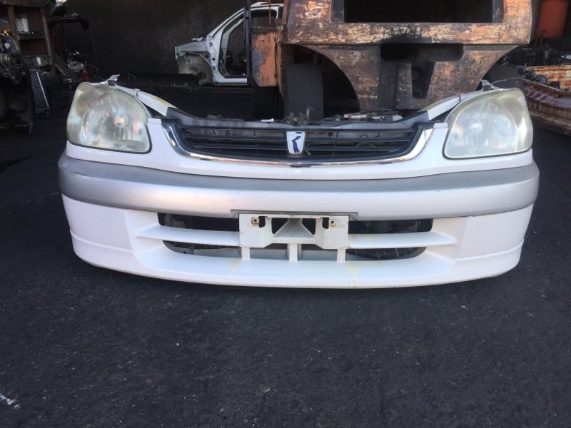 Nose cut Toyota Raum EXZ10 5E-FE передний 46-1