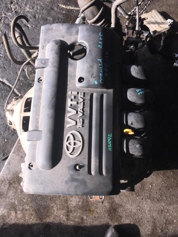 Двигатель Toyota Corolla ZZE122 1ZZ-FE 1181092