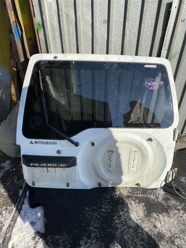 Дверь 5-я Mitsubishi Pajero Junior H57A задняя