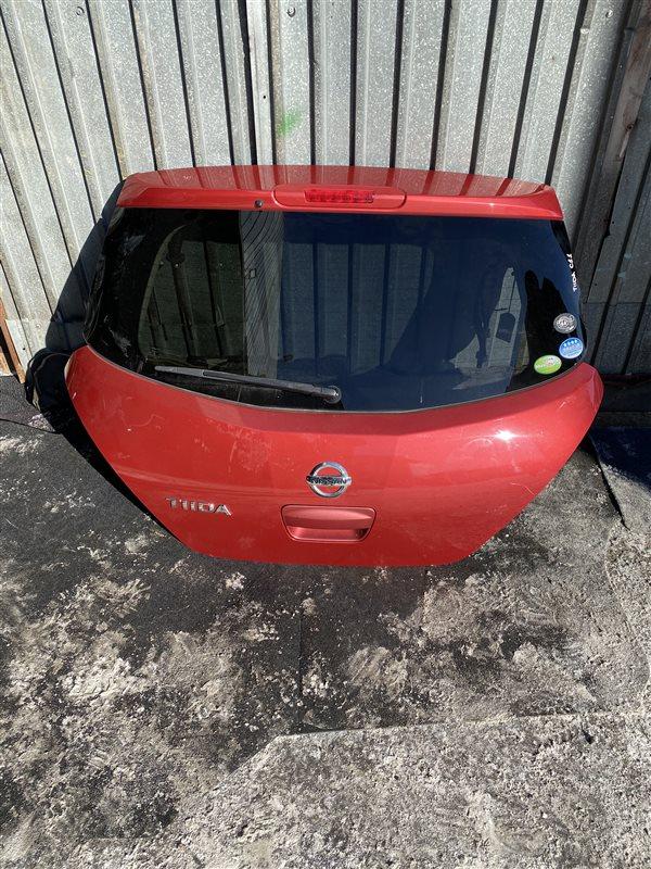 Дверь 5-я Nissan Tiida C11 задняя
