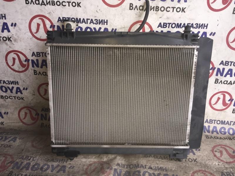 Радиатор основной Toyota Ractis NCP100 1NZ-FE A/T