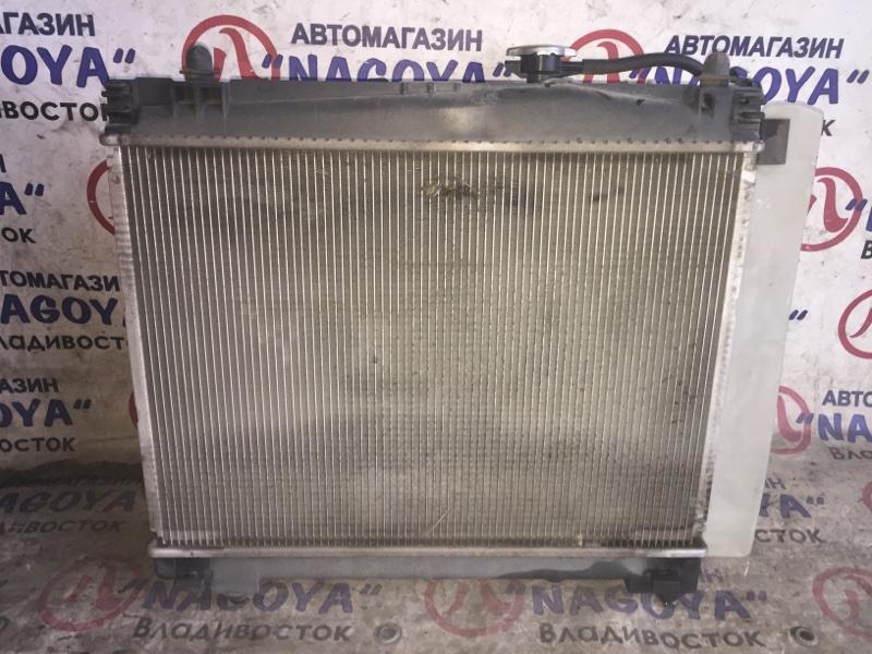 Радиатор основной Toyota Vitz KSP90 1KR-FE A/T
