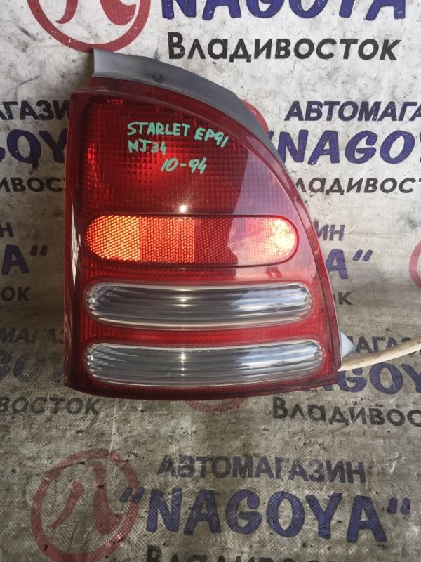 Стоп-сигнал Toyota Starlet EP91 задний левый 1094